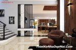 Phòng khách biệt thự mini 120m2