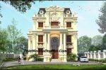 Thiết kế biệt thự cổ điển 3 tầng mặt tiền 13m