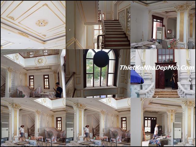 Công ty thi công nội thất biệt thự cổ điển đẹp