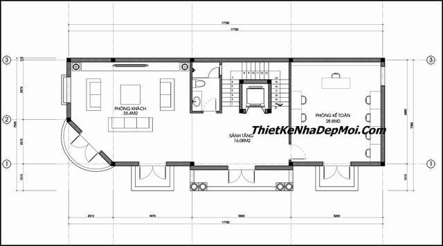thiết kế biệt thự 5 tầng, Ý tưởng thiết kế biệt thự 5 tầng đẹp tân cổ điển mặt phố 2019, Công ty thiết kế xây dựng Nhà Đẹp Mới, Công ty thiết kế xây dựng Nhà Đẹp Mới