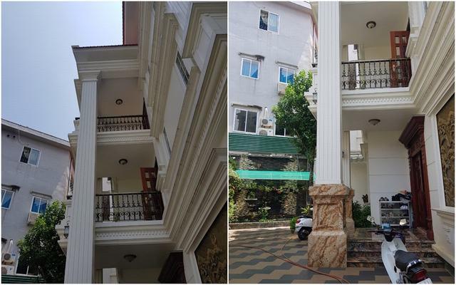 Mẫu nhà biệt thự 3 tầng đẹp mini