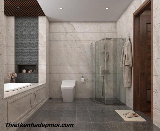 Nội thất nhà vệ sinh hiện đại