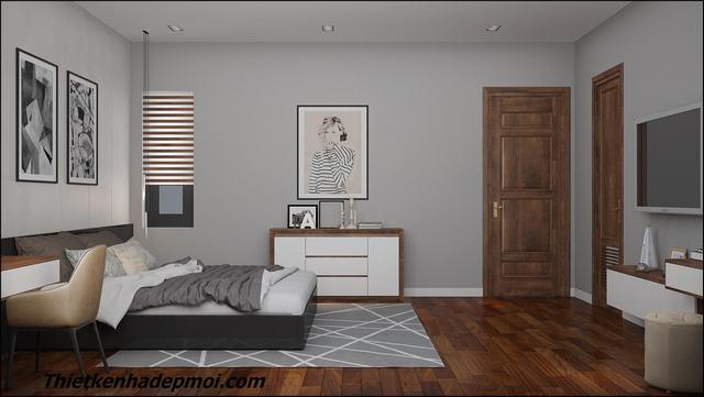Nội thất phòng ngủ hiện đại sang trọng 2020