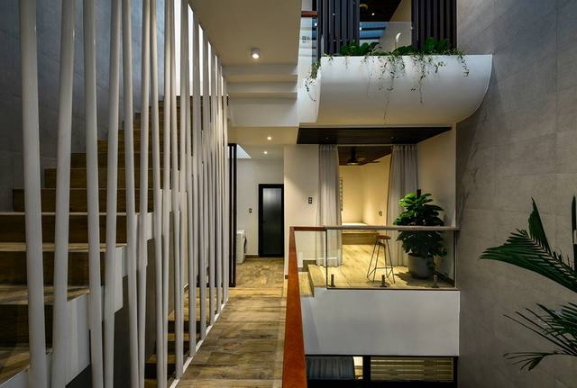 Xây nhà 1 trệt 2 lầu 1 sân thượng 80m2 3 tầng