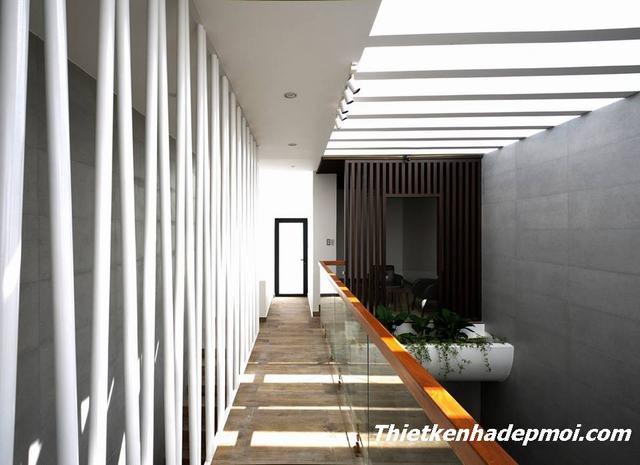 Thiết kế nhà 3 tầng diện tích nhỏ thông thoáng