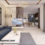 Tư vấn thiết kế nội thất phòng khách nhà ống