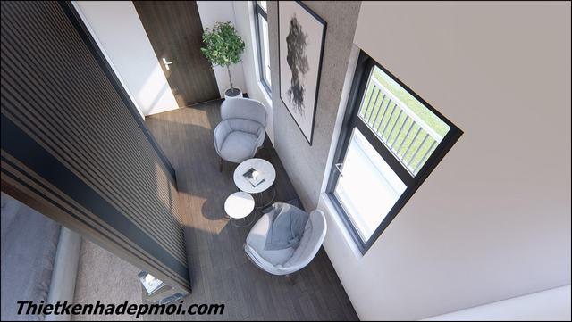 Thiết kế nội thất nhà phố đẹp 5.5m