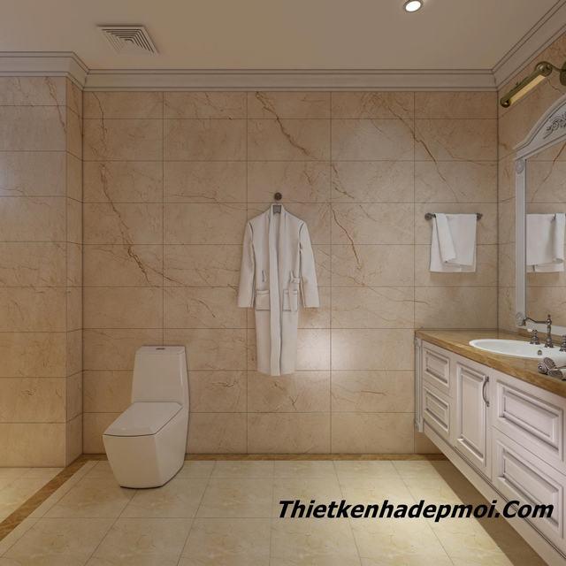 Thiết kế nhà tắm đẹp năm 2020