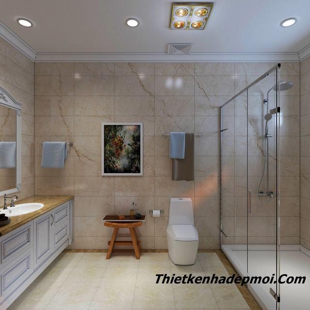 Thiết kế nhà vệ sinh 5m2 đẹp