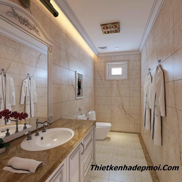 Mẫu thiết kế nhà tắm master vip