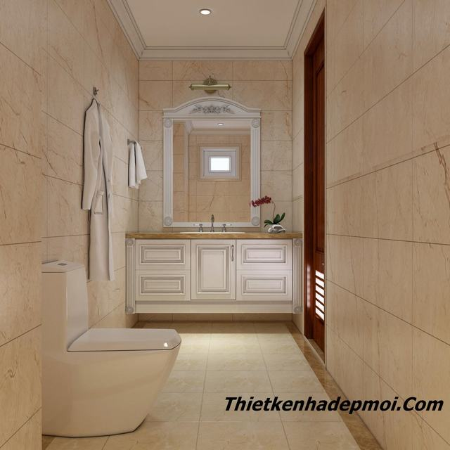 Thiết kế phòng tắm đẹp hiện đại