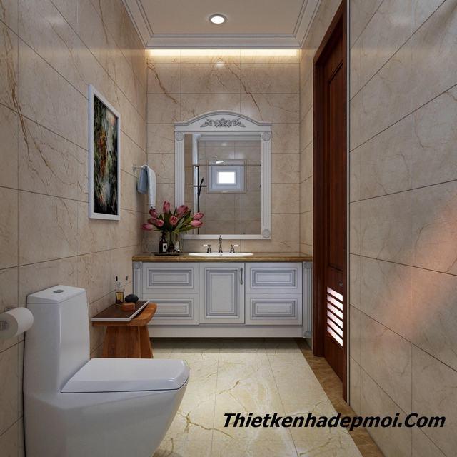 Thiết kế phòng tắm 6m2 giá rẻ