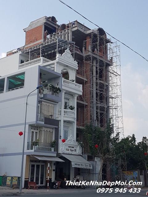xây nhà đẹp ở tại Sa Đéc Đồng Tháp
