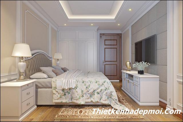 Thiết kế nội thất phòng ngủ 2020