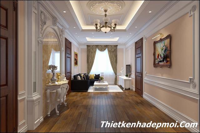 Thiết kế nội thất đẹp 2020 tân cổ điển