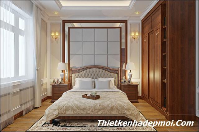 Mẫu nội thất phòng ngủ đẹp rộng 17.5m2