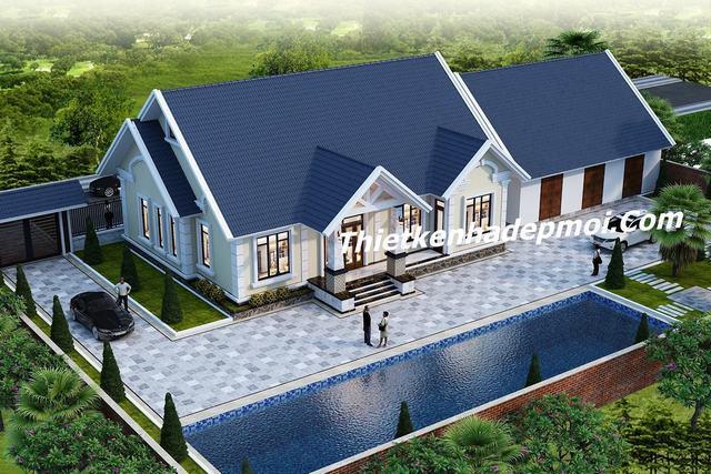mẫu bản vẽ xây dựng nhà cấp 4
