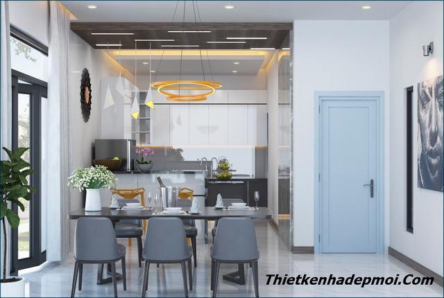 Trang trí nội thất căn hộ chung cư đẹp 60m2