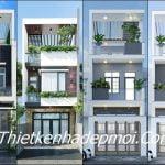 Các mẫu nhà 2 tầng 5x15m đẹp 2020