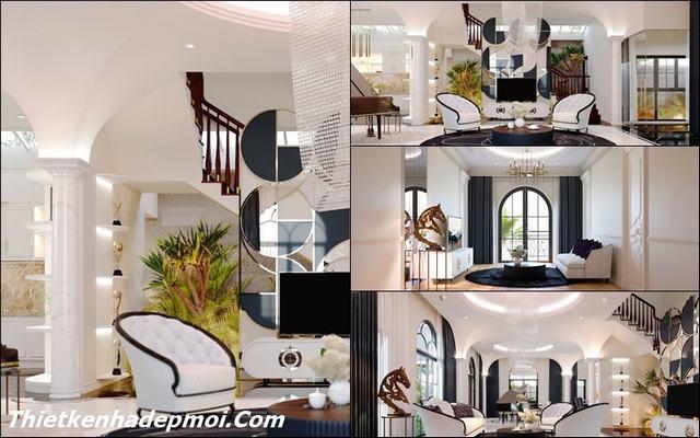 Công ty thiết kế nội thất biệt thự đẹp Vũng Tàu