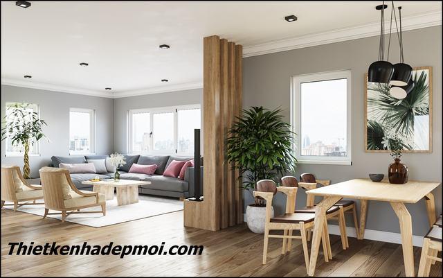 Thiết kế nội thất nhà cấp 4 đơn giản nông thôn