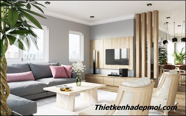Trang trí nội thất nhà cấp 4 2020