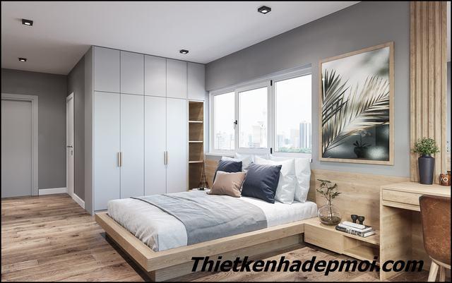 Thiết kế nội thất phòng ngủ master vợ chồng