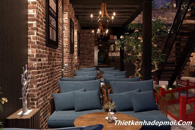 Mẫu quán cafe đẹp mới nhất 2020