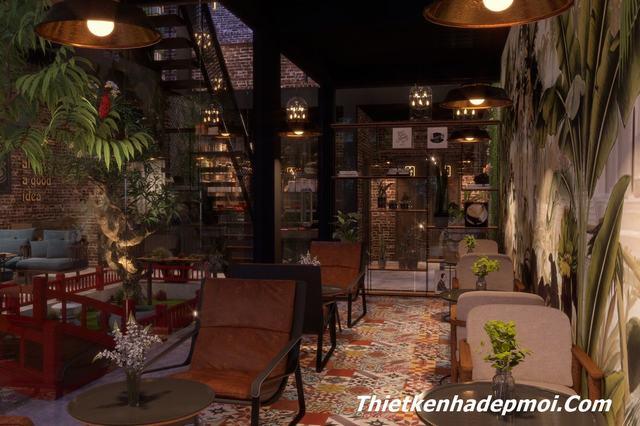Mẫu quán cafe bình dân đẹp
