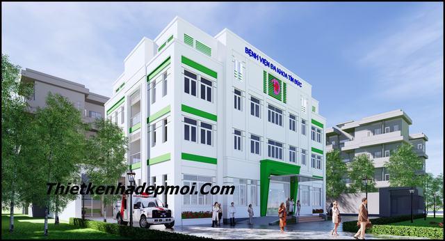 thiết kế bệnh viện đa khoa