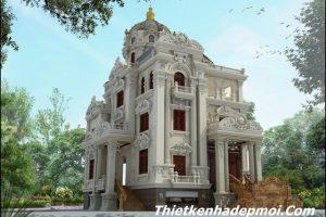 Thiết kế lâu đài 4 tầng cổ điển