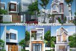 Những mẫu nhà đẹp 2 tầng 4 hòng ngủ rộng 5m