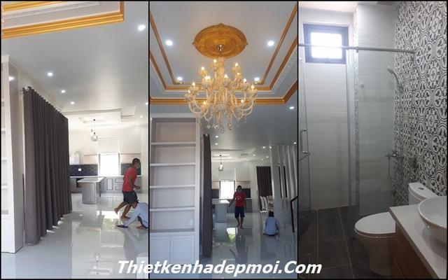 Thi công nội thất biệt thự đẹp tại Bình Phước