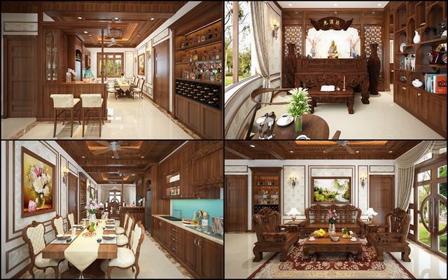 nhà đẹp nội thất gỗ năm 2020
