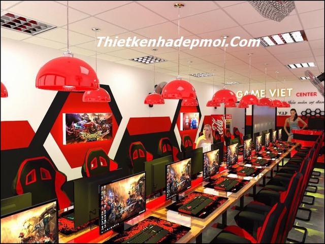Thiết kế phòng game chuyên nghiệp