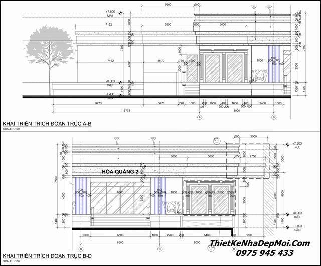 Bản vẽ thiết kế nhà hàng pdf