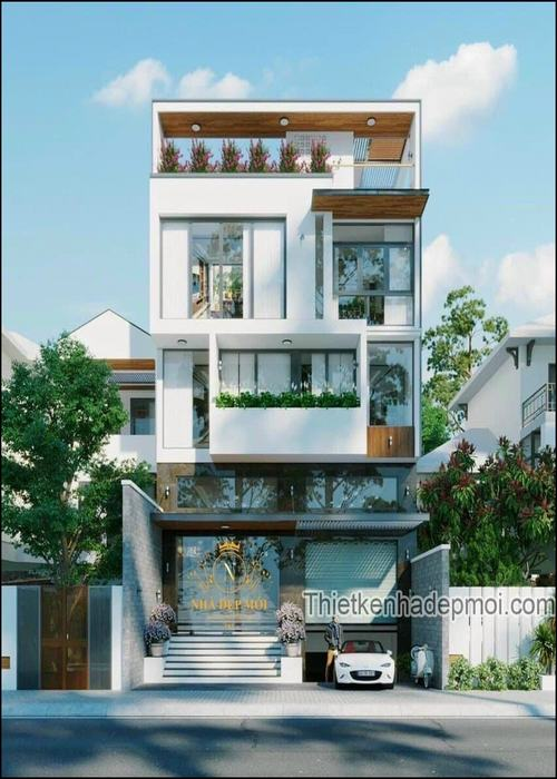 Biệt thự phố 4 tầng 120m2