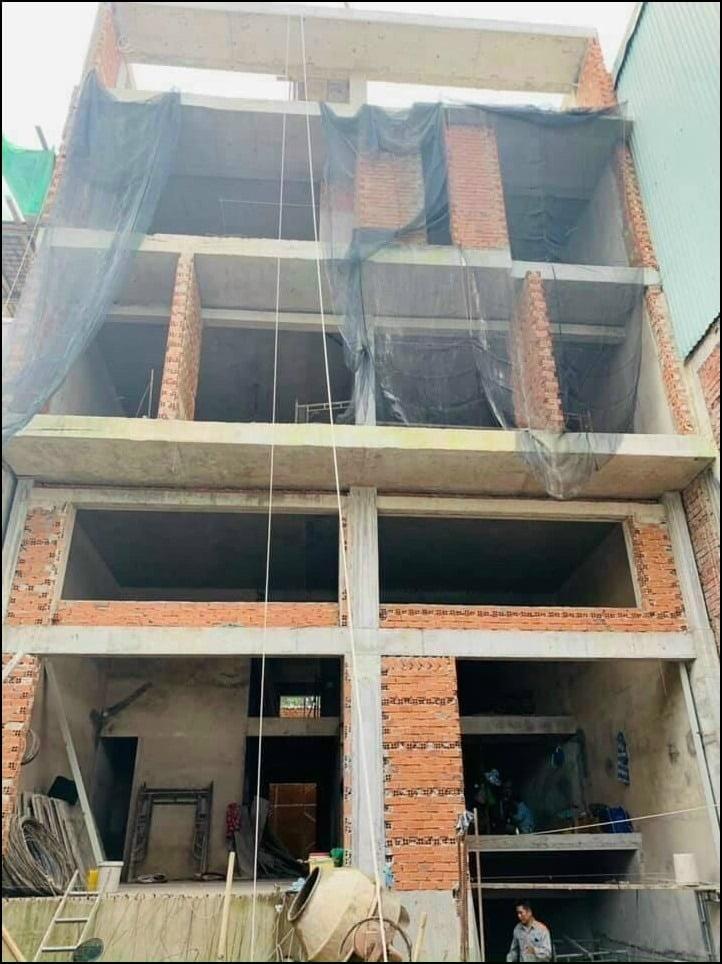 Biệt thự 3 tầng hiện đại 120m2