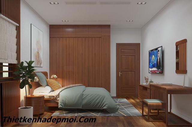 Trang trí nội thất phòng ngủ hiện đại 2020