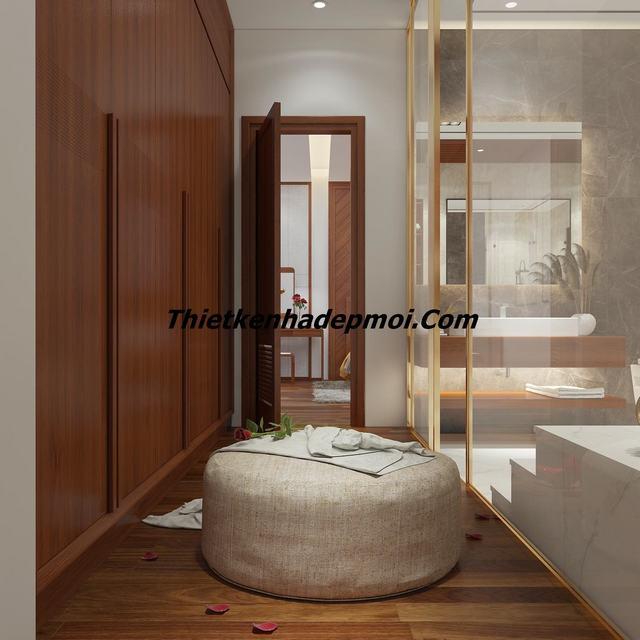 Không gian phòng tắm biệt thự đẹp 2020