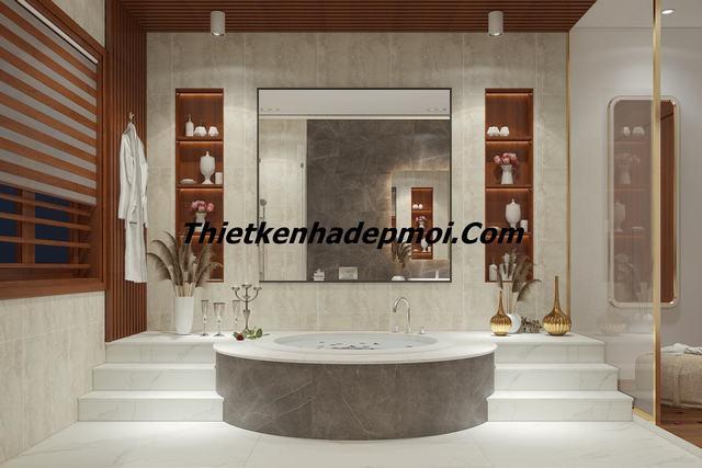mẫu thiết kế nhà tắm biệt thự mới