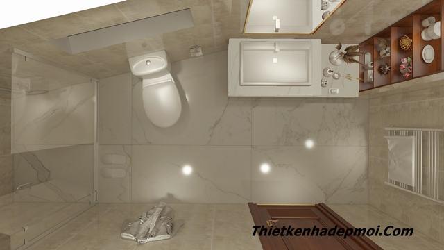 Không gian phòng tắm hiện đại 2020