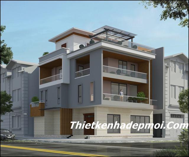 Thiết kế mặt tiền biệt thự cũ thành mới