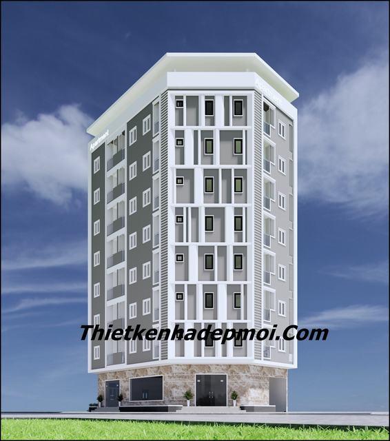Thiết kế căn hộ mini cho thuê giá rẻ