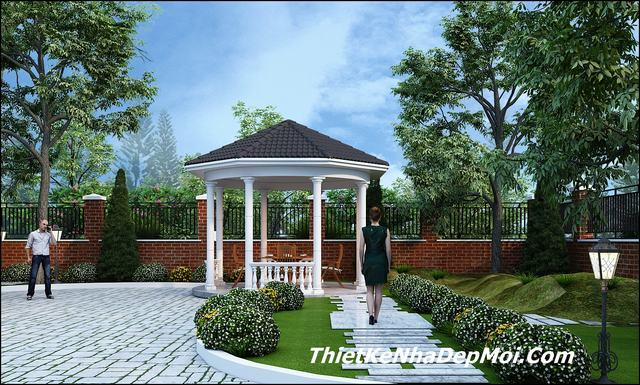 Sân vườn mini nhà