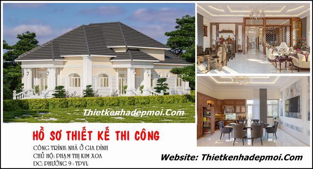 Thiết kế nội thất nhà ở nông thôn