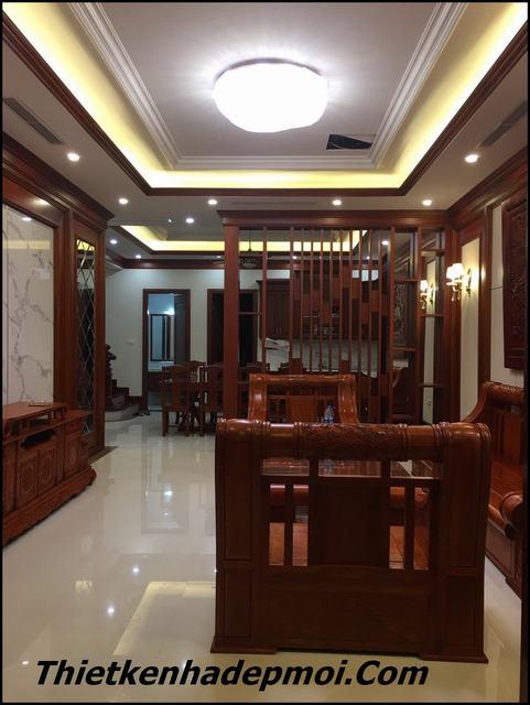 Thi công nội thất gỗ tại Hà Nội