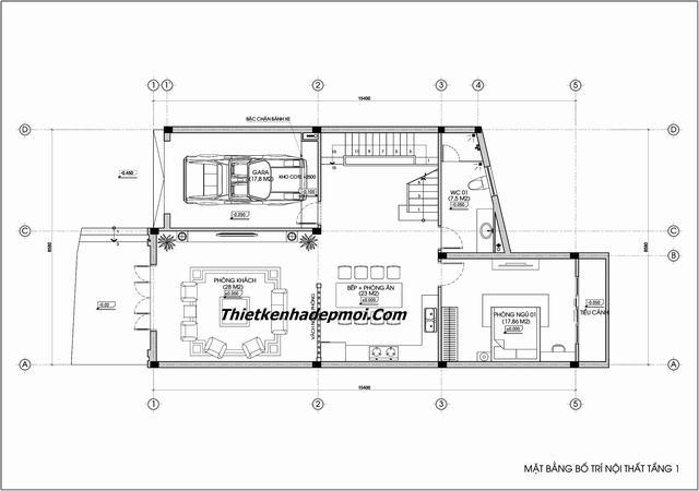 Thi công nội thất gỗ theo thiết kế