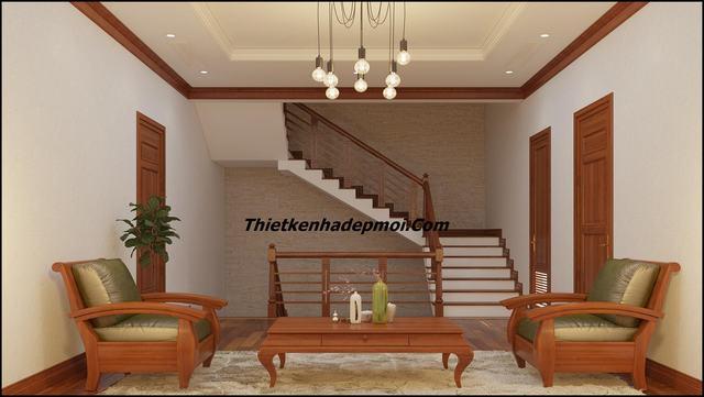Trang trí nội thất bằng gỗ tự nhiên