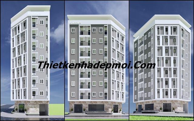 Mẫu thiết kế căn hộ mini cho thuê đẹp giá rẻ